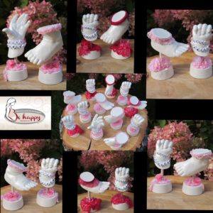 Handabdruck-Babyfussabdruck-Lilli-Marleen-rosa