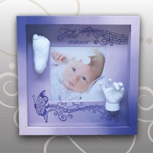 Handabdruck-Fussabdruck-Baby-Talia-