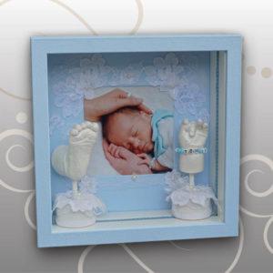 Hand-Fussabdruck-Baby-Tom