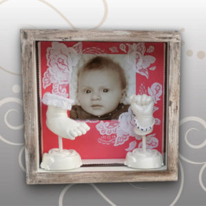 Handabdruck-Fussabdruck-Franziska-Vintage-Look