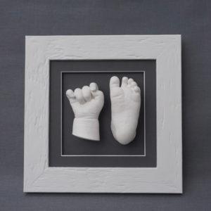 Handabdruck & Babyfussabdruck Julian